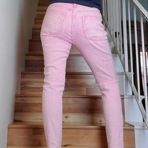 Forever 21 L.A. Pink Ankle Jeans || Size 29
